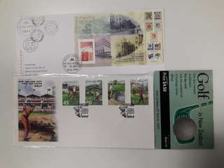 Foreign stamps FDC