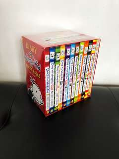 Diary Of A Wimpy Kid (12 books)