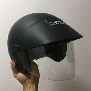 GPR GK09 Matte Black Helmet