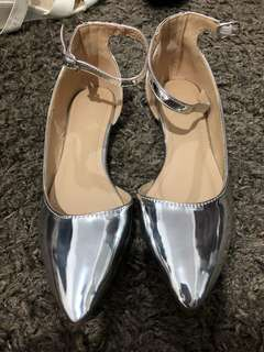 Parisian Silver Shoes
