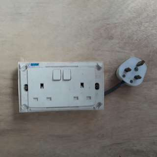 Power Socket Wall Power Point