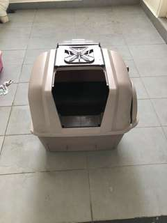 Cat Litter Box Smartsift - Scoop free