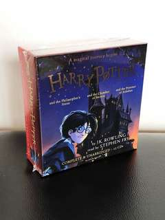 Harry Potter (Audio Cd book 1-3)