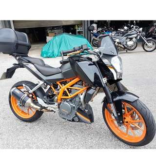 14 KTM DUke 390 ABS (Dec 2014)