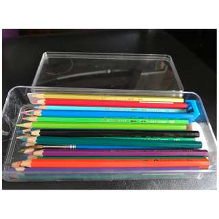 Faber Castell Colour Pencils 48L with customised box