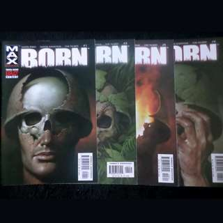 Marvel comics Born 1 to 4 full set by garth ennis
