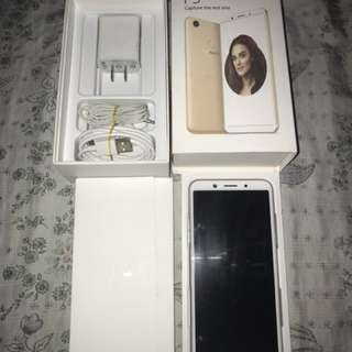 Oppo F5 for swap add cash ka