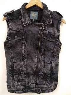 Lee Cooper Denim Sleeveles Jacket