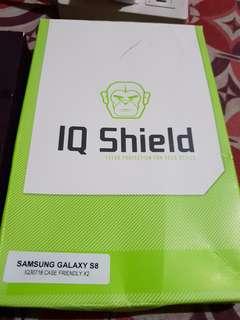 S8 plastic screen protector case friendly