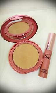 Bundling Powder Foundation dan Lipstick