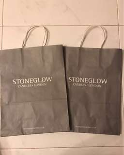 Stoneglow Candle Paper Bag