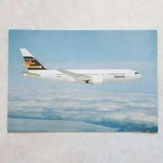 2張全新未用過經典絕版Ansett 明信片 / New, unused vintage Ansett postcard x2