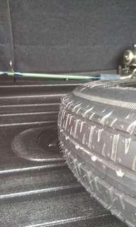Perodua Viva Spare Tyre 12' (Original)