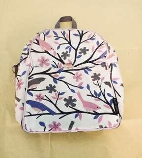 Mini backpack Floral bag