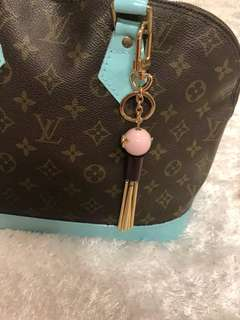 Louis Vuitton bag charm