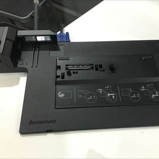 Lenovo Docking station with charger