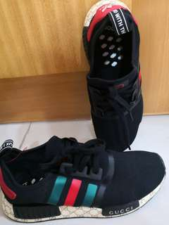 Adidas and gucci shoes