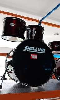 Rolling Drum Set 5pcs JB 1026 WR kredit jakarta 18