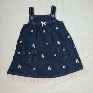 Denim Dress for 4-5 years old