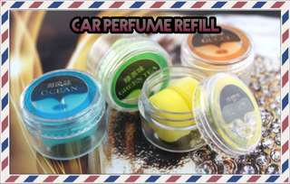 🚚 Refill for Car Perfume Air Force 3 Propeller Shape Air Freshener Free Postage!