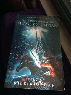 Percy Jackson (5th book)