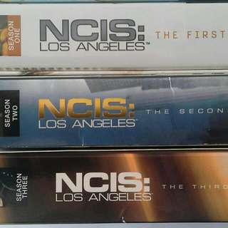 DVDs: NCIS LA Seasons 1 - 3 (ONE LOT)