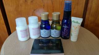 Assorted Travel Size Face & Body Care Items