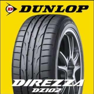 245/45/17 豋路普 DZ102 抓地一流輪胎 2014 清倉特賣全新輪胎 限量8條 裝完為止