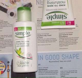 Skincare Bundle Simple Products MARKDOWN