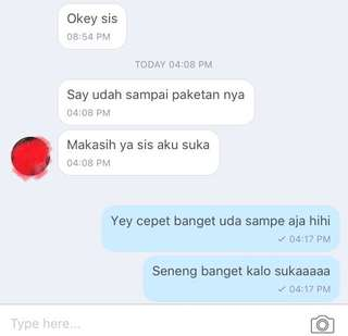 HONEST TESTI dari customer ❤️