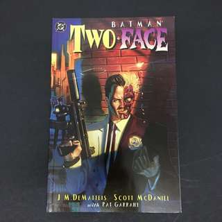 Batman: Two-Face: Crime & Punishment TPB DC Comics Book Dark Knight Movie