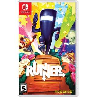 [NEW NOT USED] SWITCH Runner3 Nintendo Nicalis Platform Games