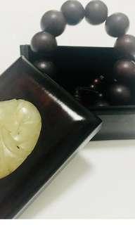 Zitan beads 紫檀手串! Solid and huge colllector piece