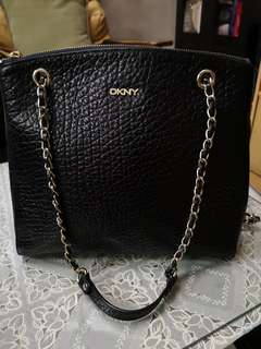 Original DKNY leather bag