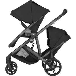 Britax Twin/Double B-Ready Stroller/Pram