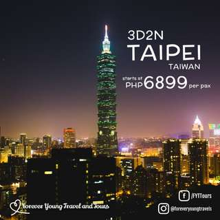 3D2N Taipei Taiwan Free and Easy Tour Package