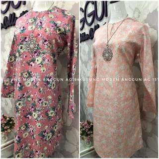 Kurung Modern English Cotton(pre-order)