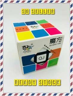 🚚 Qi Ji 3x3 Curve Edge Rubix Cube Free Postage!