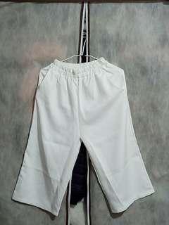 🚚 可換物 白色寬褲