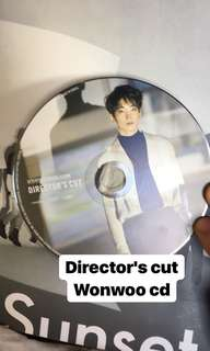Seventeen director's cut Wonwoo cd
