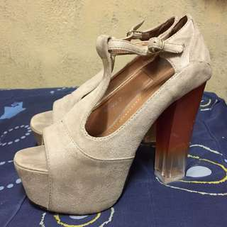 Primadonna Chunky Heels with Platform