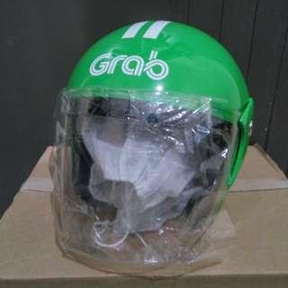 Helm Grab Orisinil Baru Edisi Tidak Dipakai