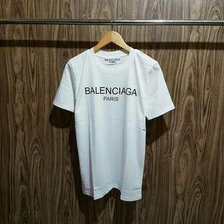 Kaos Balenciaga premium putih