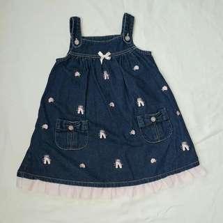 Denim Dress for Children age 4-6