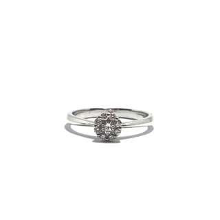 18 K Engagement Ring HK Setting