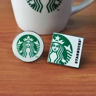 Starbucks Pin Set