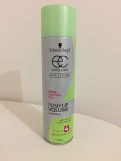 SCHWARZKOPF Extra Care Push Up Volume Hairspray