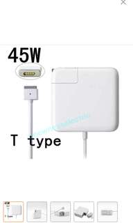 "(In stocks)Brand New 45W MagSafe2 Power Adapter Charger T-tip For Apple MacBook Air 11''13"" A1435/A1465/A1466/A1436"