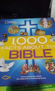 1,000 Facts About The Bible National Geographics