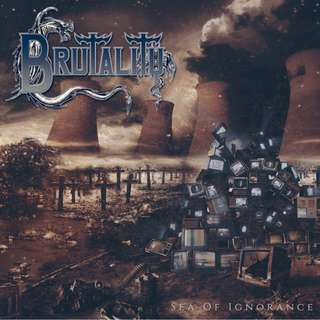 Brutality - Sea of Ignorance CD Reissued by Stillborn Sounds